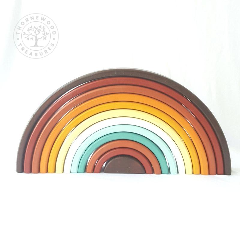 Large Rainbow Stacker – Autumn