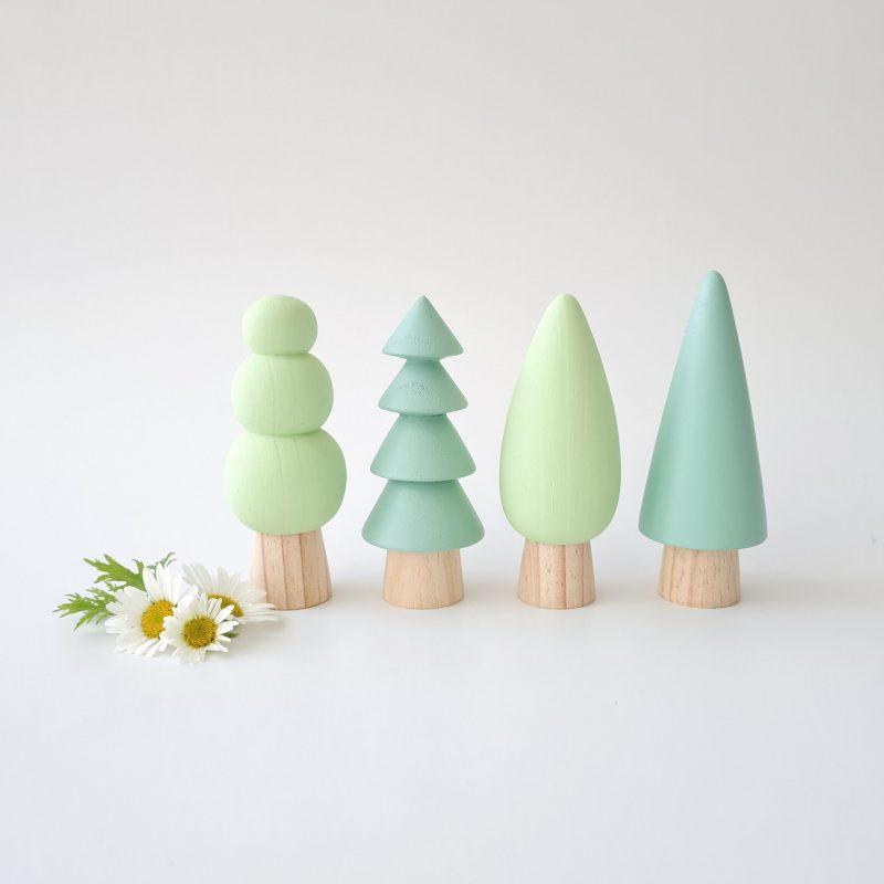 Trees – LARGE (soft Pastels)